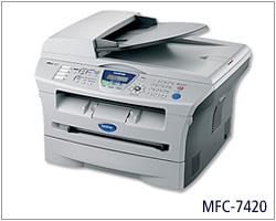 兄弟激光MFC-7420打印机驱动