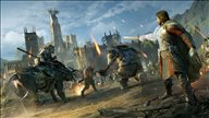 《中土世界:战争之影》精美壁纸 战斗场面气势如虹
