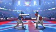 《跆拳道大奖赛》游戏截图 运用实力击败敌人