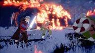 《芬布尔》游戏截图 阻止诸神黄昏拯救世界