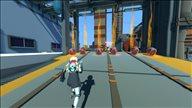 《天空追迹者》游戏截图 飞跃屋顶击退敌人