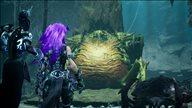 《暗黑血统3》新截图公布 紫发形态怒神手撕昆虫BOSS