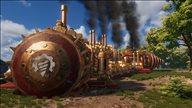 《火山钻地机》游戏截图 驾驶钻地机收集资源