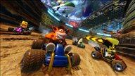 《古惑狼赛车:重制版》游戏截图 争抢道具冲刺第一