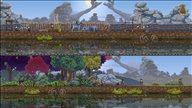 《王国:两位君主》游戏截图 建设王国抵御贪婪生物侵袭