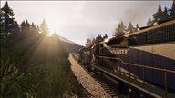 《铁路模拟2019》游戏截图 驾驶火车游览四季景色