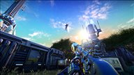 《行星边际:竞技场》游戏截图 一场500人的外星吃鸡决赛