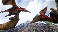 《方舟:生存进化》Switch版截图曝光 恐龙环伺震撼人心