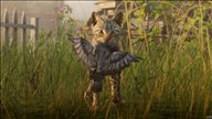 《荒野大镖客2》野生动物新截图 雄鹰翱翔西部上空