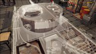 《坦克技师模拟器》游戏截图 硬核模拟修理坦克