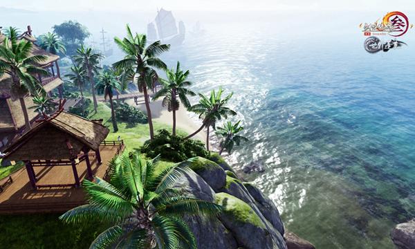 陽光、海島、椰子樹!《劍網3》寒冬必去的景點