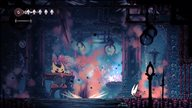 《空洞骑士:丝绸之歌》截图 探索诡异闹鬼国度