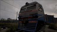 《西伯利亚铁路模拟器》游戏截图 极寒天气下操控火车前进