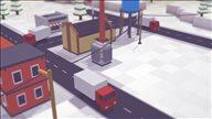 《体素大亨》游戏截图 合理建造铁路网线