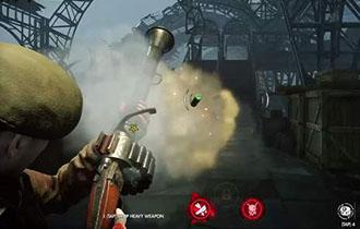 《僵尸部队4:死亡战争》武器演示 机枪/喷火器齐上阵