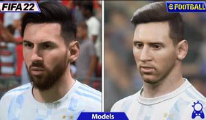 《eFootball 2022》对比《FIFA 22》 矮子里面拔将军