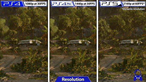 PS版《孤岛惊魂6》画面对比 优化不错,帧率几乎完美