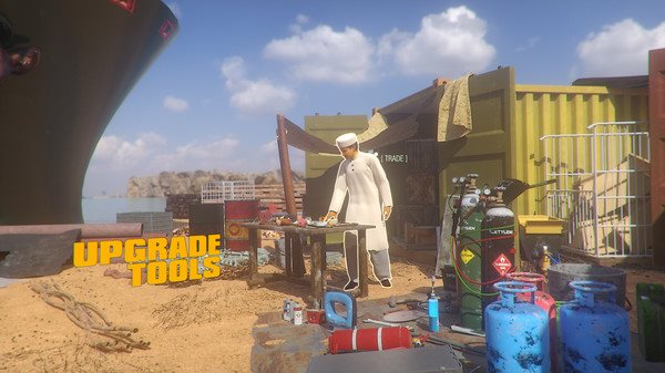 沙盒《船舶墓地模拟器》即将发售 成为船零件出售商