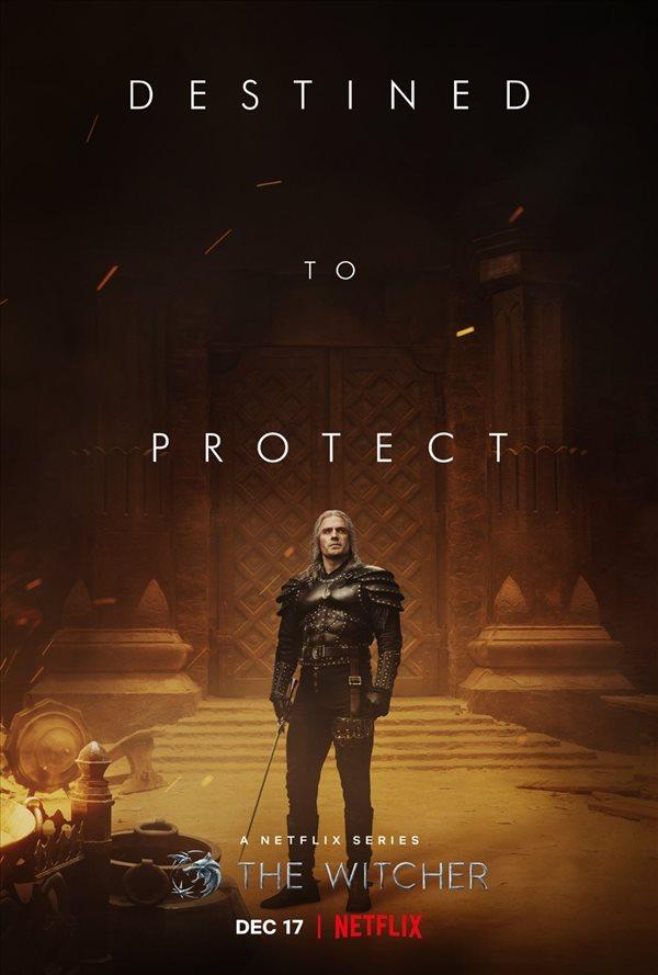 《巫师》第二季主角海报 希里、叶奈法亮相,12月播出
