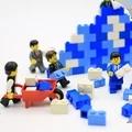 方块拼模型