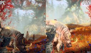 《戰神》PC版預告 vs PS5實機對比 PC光線、場景更佳