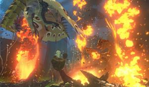《怪物猎人物语2》新随行兽介绍 金、银火龙最靓的仔