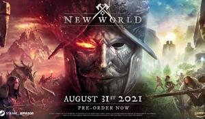 Steam一周销量排行榜 MMO《新世界》前十位占其四