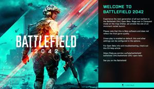 《战地2042》Beta公测预载已开启 PC版大小19.10GB