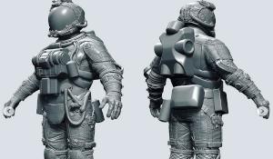 《星空》两套宇航服造型曝光 星际行走必备科技感十足