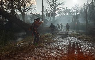 PC《往日不再》4K实机演示 丧尸末日险境中挣扎求生