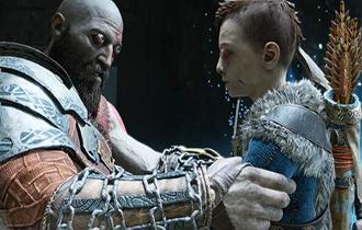 網友制作《戰神4》搞笑短片 奎爺和兒子大眼太魔性