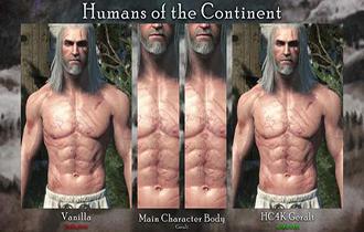 《巫師3》高清紋理Mod AI技術增強所有人類紋理質感