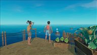 《Raft》精美游戏截图 和大白鲨斗智斗勇
