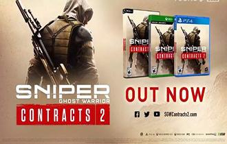 PS5《狙击手:幽灵战士契约2》8月24日发售 4K/30帧
