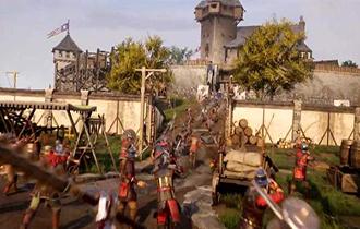 中世紀《騎士精神2》發售預告 權利之戰激烈,畫面血腥
