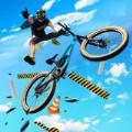 自行车特技骑手