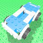 积木砖赛车
