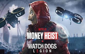 《看門狗:軍團》聯動《紙鈔屋》 經典一身紅帶面具