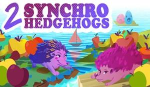 回味经典! 2D像素闯关《2Synchro Hedgehogs》发售