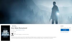 Xbox港服《心灵杀手复刻》预购开启 39.2G,199港币