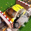 闲置汽车破碎机