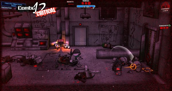 血战到底! Steam《狂暴之徒:联合计划》9月29日发售插图7