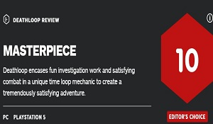 《死亡循环》IGN 10分 令人十分满意、新的高水平标杆