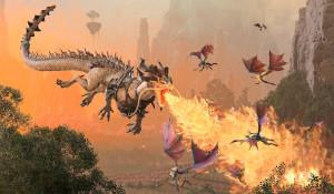 《全战:战锤3》震旦传奇领主介绍 天廷龙卫精于防守