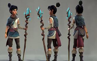 《柯娜精神之桥》女主形象设计介绍 3D形象反复迭代