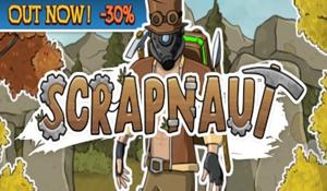 生存冒險《Scrapnaut》Steam特別好評 很酷的朋克風