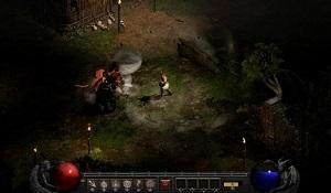 《暗黑破坏神2:重制版》NS版截图 画面高清效果不错