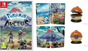 亚马逊公布《宝可梦阿尔宙斯》预购特典 精灵球收纳盒