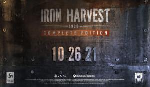 柴油朋克RTS《钢铁收割》完全版宣传片 10月登陆PS5