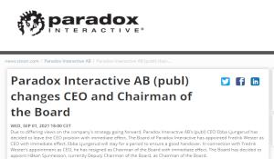 P社CEO官宣离职 与公司战略看法不同,前任接棒救场
